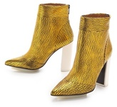 3.1 Phillip Lim Peggy Metallic Ankle Booties