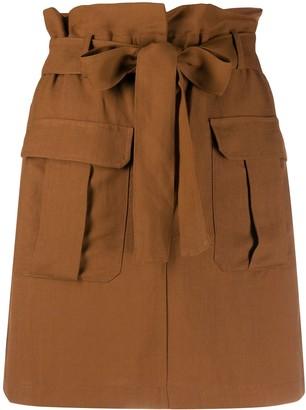 Andamane High-Waisted Utility Pocket Skirt