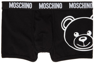 Moschino Black Teddy Boxers