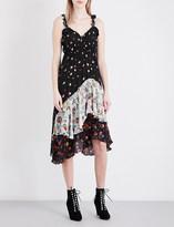 Preen Line Cecile floral crepe dress