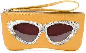 Sarah Chofakian Cat-Eye Wallet