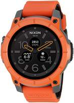 Nixon 'Mission' Smartwatch, Color: Orange (Model: A1167-2658)