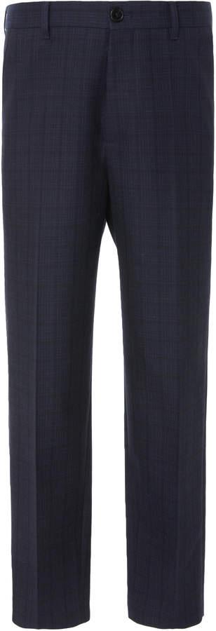 Marni Tailored Flat-Front Pants