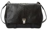 Proenza Schouler Courier Large Python Shoulder Bag