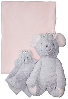 Elegant Baby Mouse Huggie and Lovie Set (Infant) (Grey) Accessories Travel