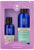 Neal's Yard Remedies Relax Lavender Bath & Body Duo