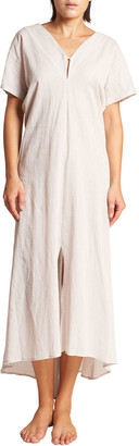 Leswim Tyche V-Neck High-Low Maxi Dress