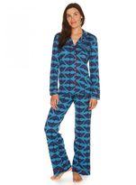 Cosabella Bella Printed Longsleeve Top & Pant Pajama Set