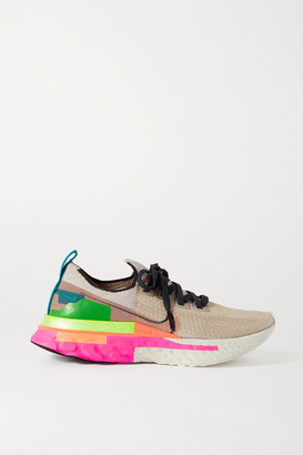 Nike React Infinity Run Flyknit Sneakers - Blush