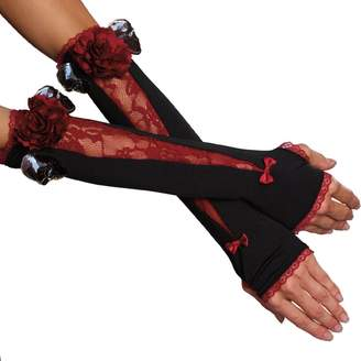 Dreamgirl Women's Spookilicious Gloves