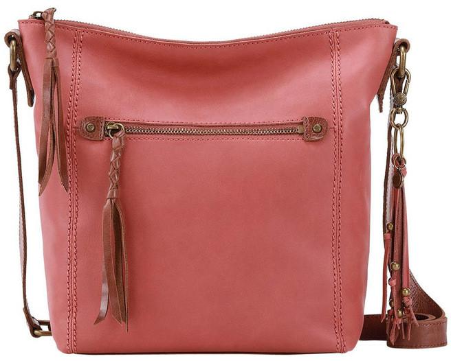 The Sak 108216 Ashland Zip Top Crossbody Bag