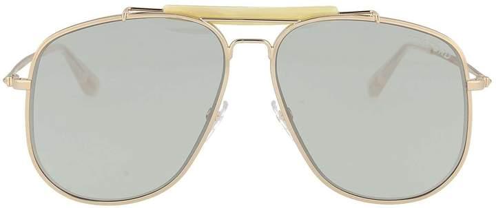Tom Ford Sunglasses 0557 Connor 02 28E Shiny Rose Orange Brown