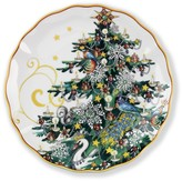 Williams-Sonoma 'Twas The Night Before Christmas Salad Plates, Set of 4, Tree