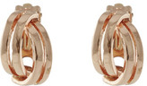 Barcs Wave Two Tone Clip Earring