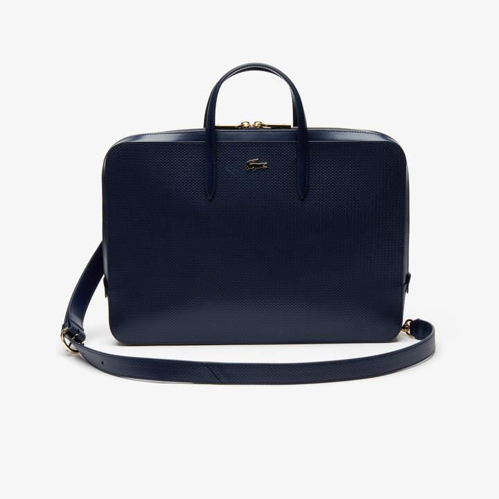 ca5113614b4 Lacoste Leather Handbag - ShopStyle