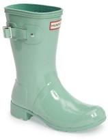 Hunter Women's Tour Short Gloss Packable Rain Boot