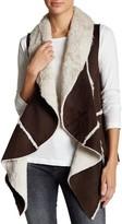 Romeo & Juliet Couture Faux Fur Drape Vest