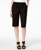 Eileen Fisher Organic Cotton-Blend Bermuda Shorts