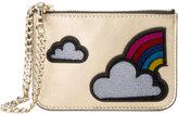 Les Petits Joueurs cloud and rainbow applique coin purse