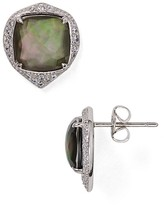 Nadri Sterling Mirage Mother-of-Pearl Drop Earrings
