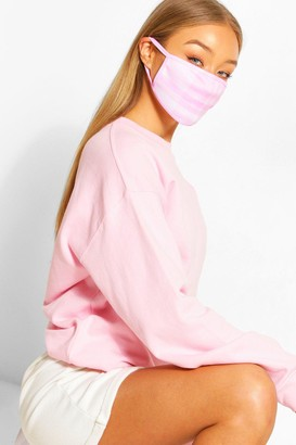 boohoo flannel Fashion Face Mask