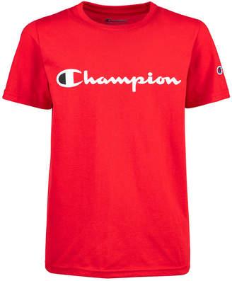 Champion Little Boys Logo-Print T-Shirt