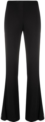 Area High-Waisted Flared Trousers