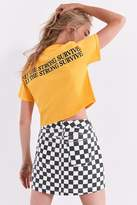Urban Outfitters Only The Strong Survive Cropped Tee