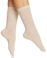 Hue Cable Knit Socks
