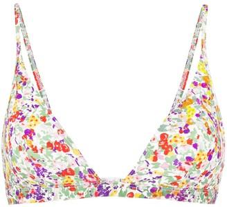Isabel Marant Floral-Print Bikini Top