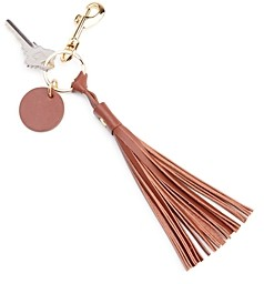 ROYCE New York Leather Tassel Key Fob