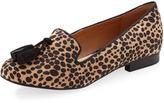 Tabitha Tassel Suede Loafer, Leopard