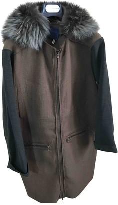Lanvin Brown Fur Coat for Women