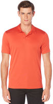 Perry Ellis Big and Tall Short Sleeve Open Collar Polo