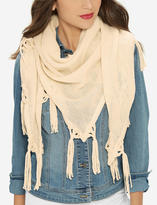 The Limited Fringe Triangle Scarf