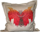 Houseology Timorous Beasties Ruskin Birdsong Cushion On Linen