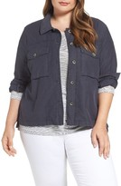 Plus Size Women's Caslon Utility Jacket