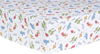 "Trend Lab Dr. Seuss ""One Fish, Two Fish"" Fitted Crib Sheet"