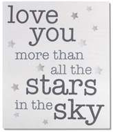 """Wendy Bellissimo Wendy BellissimoTM """"We Love You More"""" Wood Wall Art"""