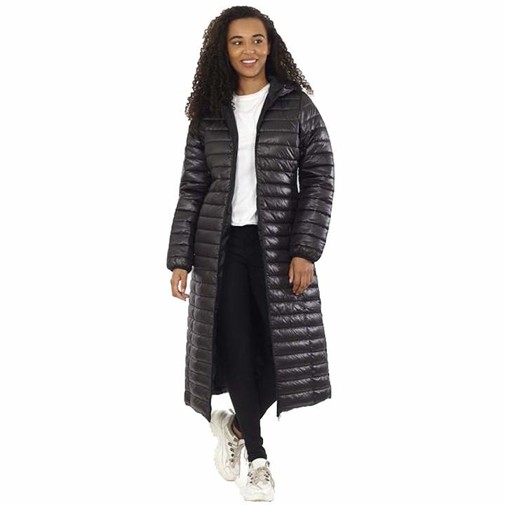 Thumbnail for your product : Brave Soul Ladies' The Rockn Rev Jacket MAXIPUFFER Black UK 10