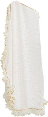 My Beachy Side Tekomkaf Ruffled One-Shoulder Dress