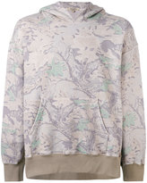 Yeezy autumn print hoodie