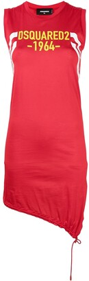 DSQUARED2 Logo-Print Jersey Dress