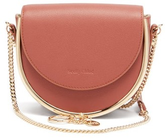 See by Chloe Mara Grained-leather Small Cross-body Bag - Brown
