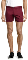 Parke & Ronen Cotton Solid Holler Shorts