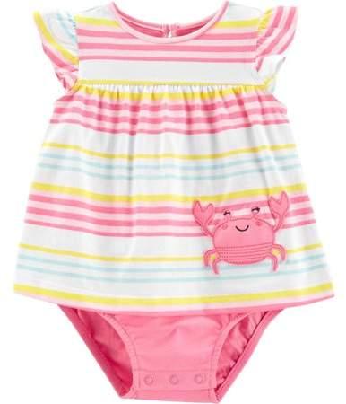5479f880e5d6e Carter's Baby Sunsuit Baby Girls Sunsuit \\ - ShopStyle
