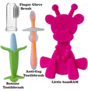 Bambeado Teething Toys Set for Oral Hygiene Training