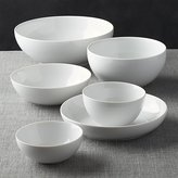 "Crate & Barrel Bistro 6""-11.75"" Bowls"