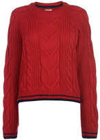 Soul Cal Soulcal SoulCal Deluxe Cable Knit Jumper