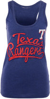 5th & Ocean Women's Texas Rangers Scripty Tank